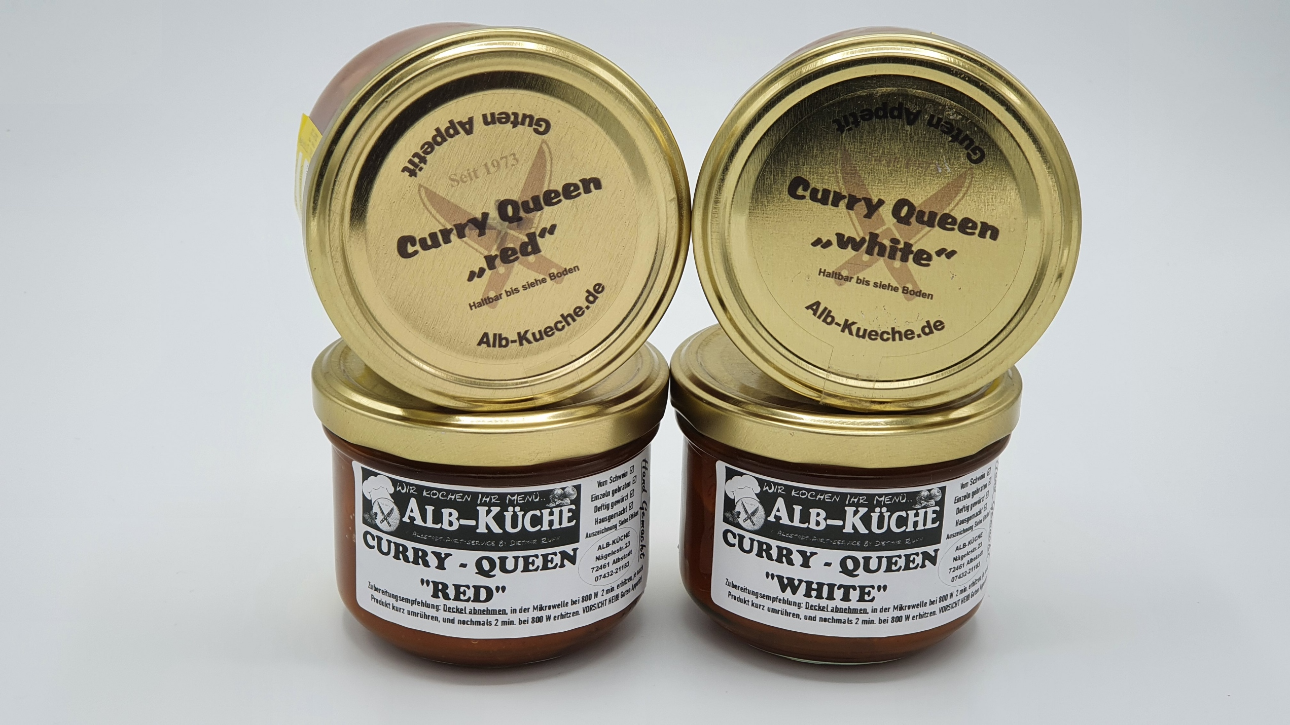 Currywurst Curry Queen Red